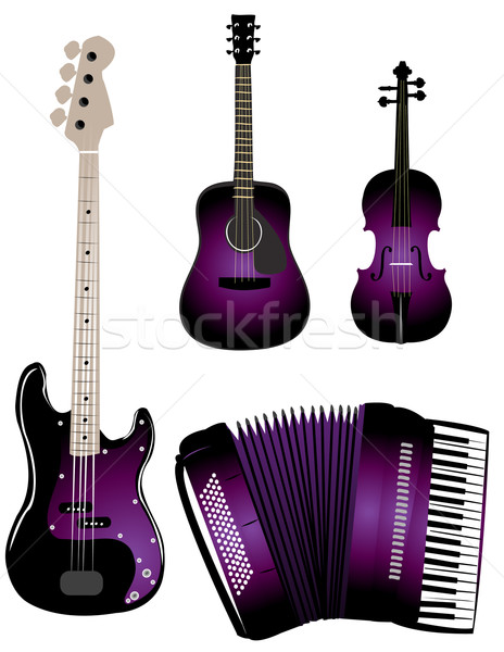 Music instruments Stock photo © Nevenaoff