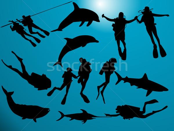 Deep sea Stock photo © Nevenaoff