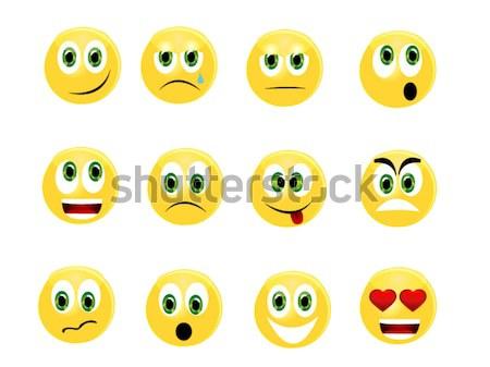 Emoticons Stock photo © Nevenaoff