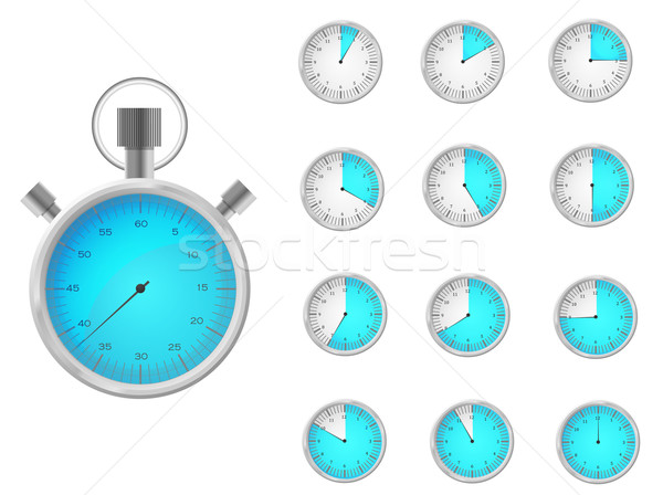 Time icons Stock photo © Nevenaoff