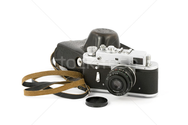 Vintage Analog Camera Stock photo © newt96