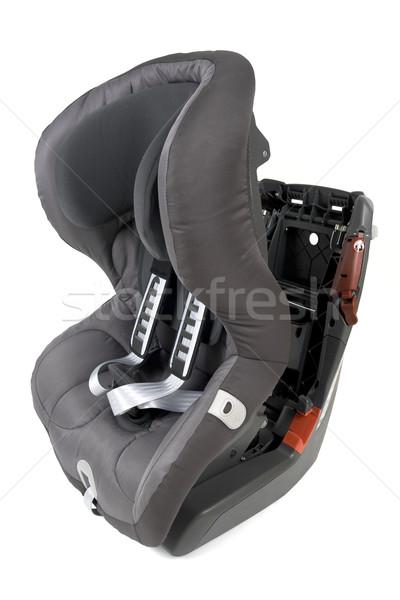 車 座席 子供 孤立した 白 赤ちゃん ストックフォト © newt96