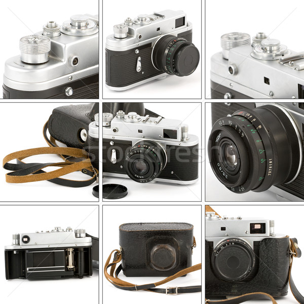 Vintage Camera Montage Stock photo © newt96
