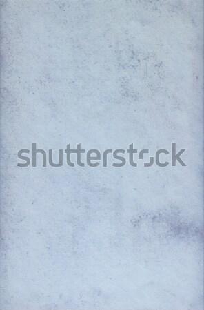 Foto stock: Azul · sujo · detalhado · textura · cópia · espaço · parede