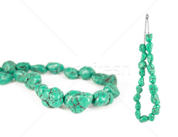 Green Turquoise Necklace Stock photo © newt96
