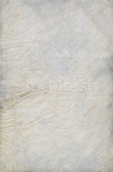 Gray Blue Creased Paper Stock photo © newt96