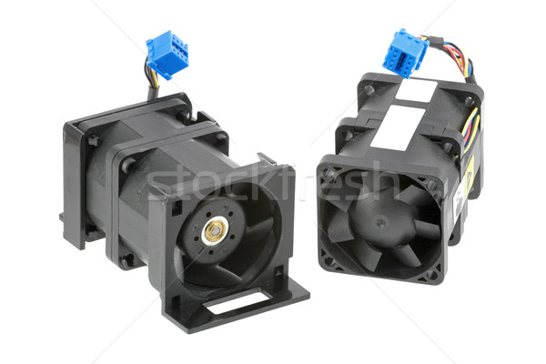 Two Dual-Rotor Fans Stock photo © newt96