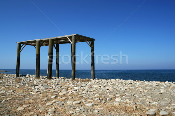 Unfinished Construction of a Summerhouse Stock photo © newt96