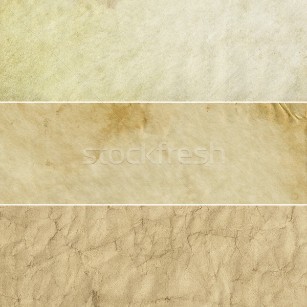 Beige Vintage Backgrounds Collection Stock photo © newt96
