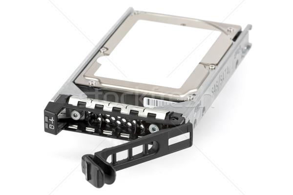 Disque dur technologie serveur magasin données disque Photo stock © newt96
