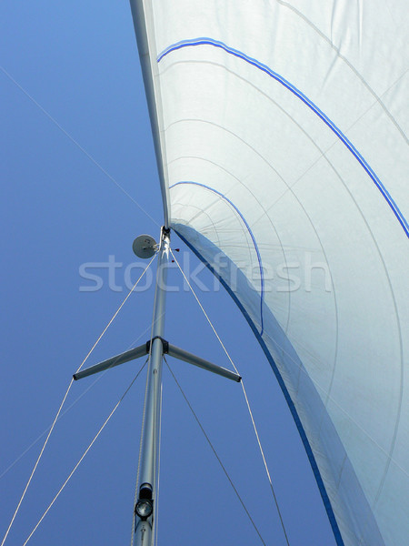 Sailboat Rigging Stock photo © newt96