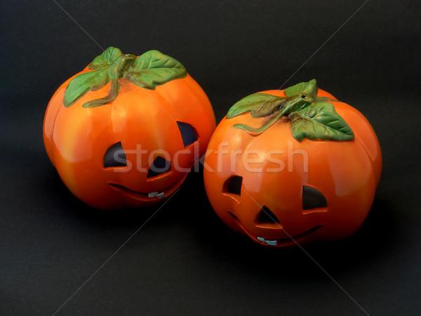 Halloween Pumpkins Stock photo © newt96