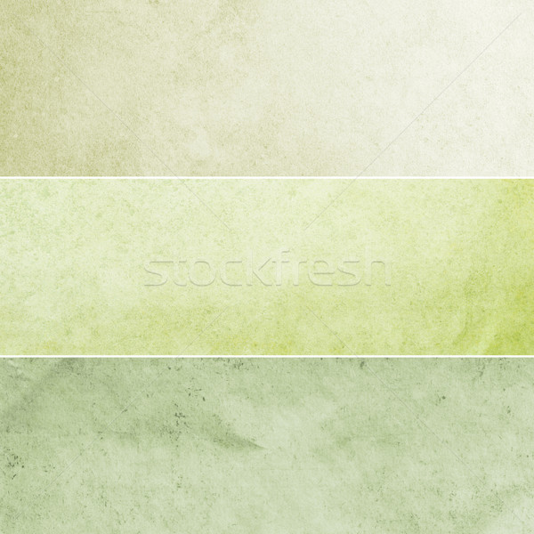 Green Vintage Backgrounds Collection Stock photo © newt96