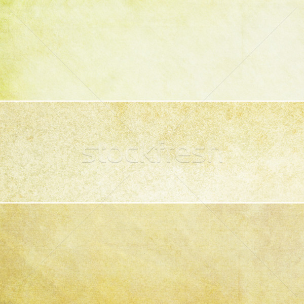 Yellow Vintage Backgrounds Collection Stock photo © newt96
