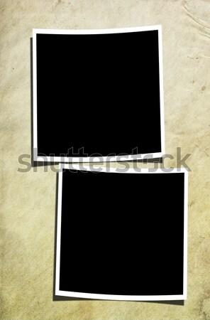 2 写真 古い 壁 汚い 紙 ストックフォト © newt96
