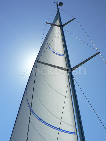 Sailboat Mast Stock photo © newt96