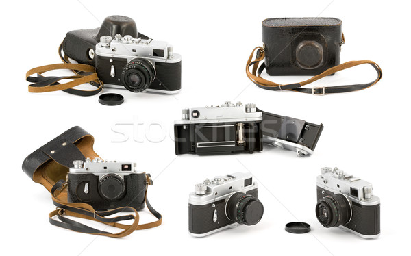 Vintage Camera Collection Stock photo © newt96