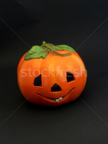 Smiling Halloween Pumpkin Stock photo © newt96