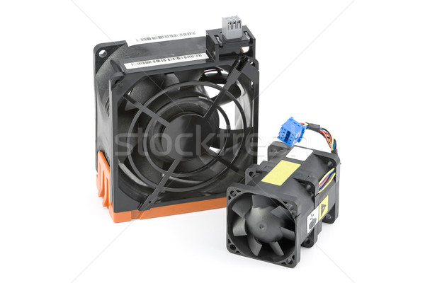 Two Cooling Fans Stock photo © newt96