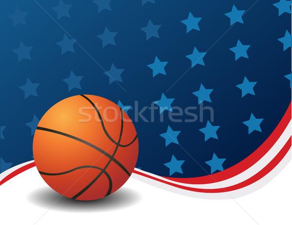 Basketball, vector  Stock photo © nezezon