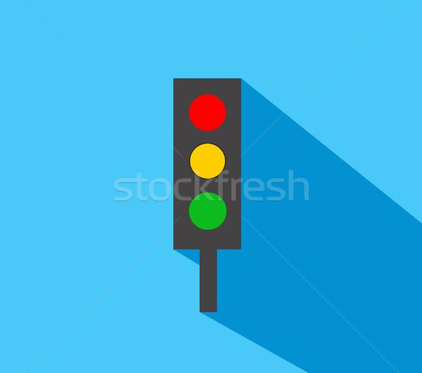 Traffic light Stock photo © nezezon