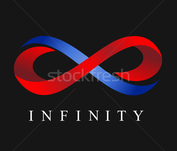 infinity vector illustration  Stock photo © nezezon