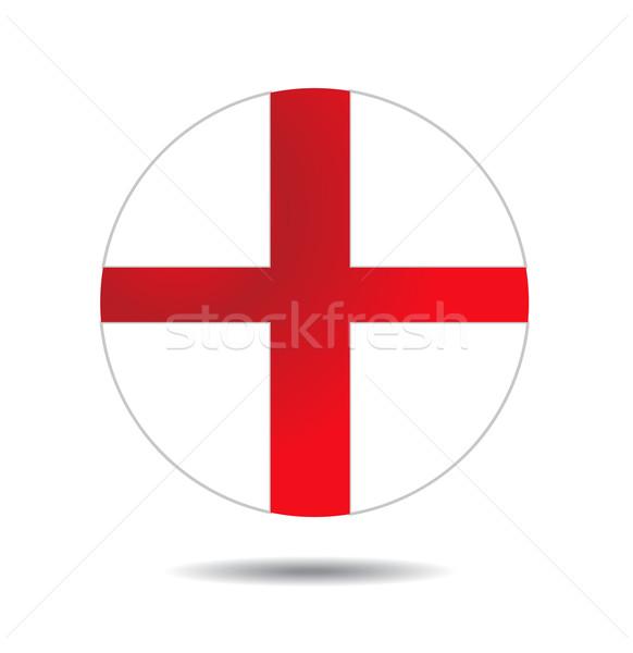 Angol zászló absztrakt zászló hátterek antik grafikus Stock fotó © nezezon
