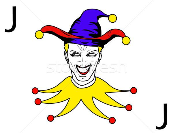 joker playing card Stock photo © nezezon