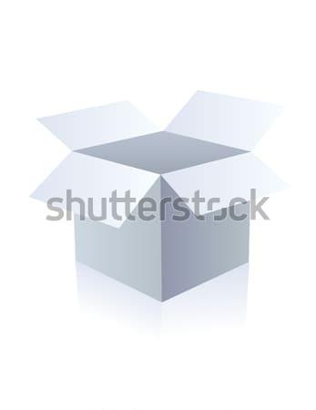 Caixa casa e-mail entrega seguro Foto stock © nezezon