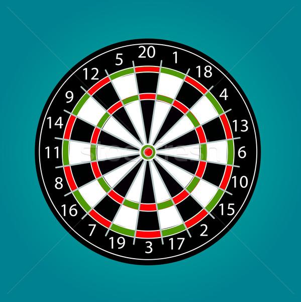 Darts vector Stock photo © nezezon