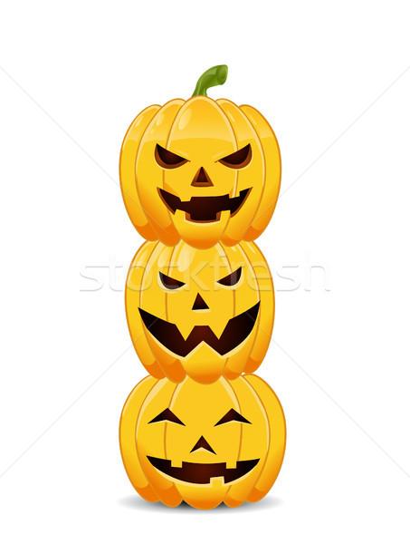 зла оранжевый осень темно белый Сток-фото © nezezon