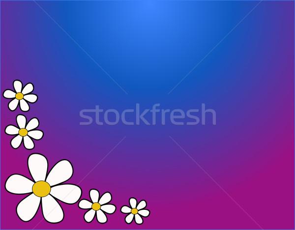 Fiori caldo colori giardino colore impianto Foto d'archivio © nezezon