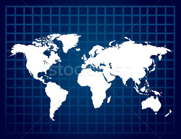 World map Stock photo © nezezon