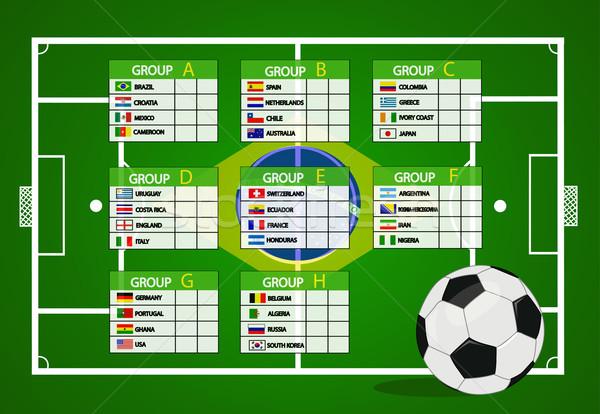 Soccer Tournament 2014  Stock photo © nezezon