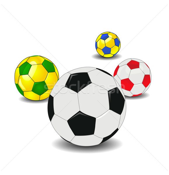 Soccer ball Stock photo © nezezon