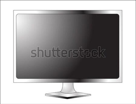 Plasma LCD tv película tecnología supervisar Foto stock © nezezon