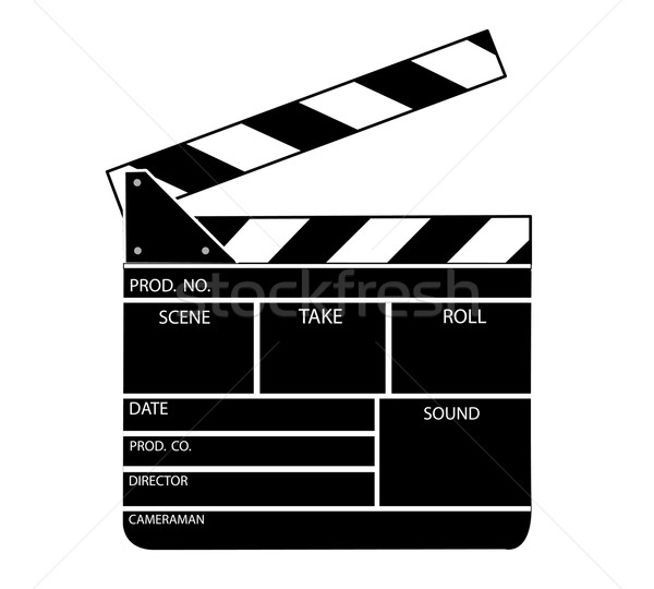clapper board template images galleries with a bite. Black Bedroom Furniture Sets. Home Design Ideas