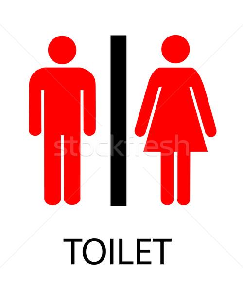 знак мужчин комнату ванны женщины туалет Сток-фото © nezezon