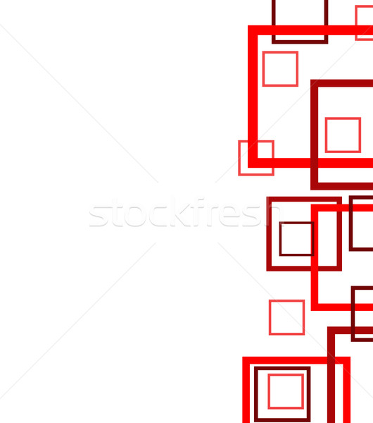 Abstract geometric colorful pattern Stock photo © nezezon