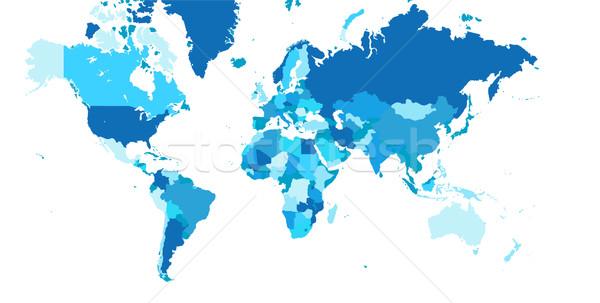 Carte du monde affaires texture lumière technologie espace Photo stock © nezezon
