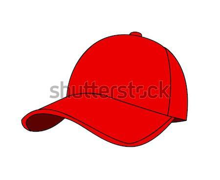 Baseballsapka fehér divat sport baseball bolt Stock fotó © nezezon