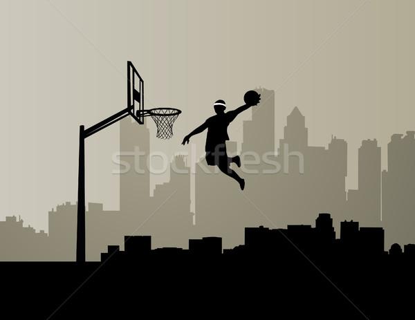 basketball player Stock photo © nezezon