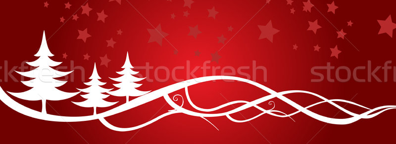 Christmas Background fully editable vector illustration Stock photo © nezezon