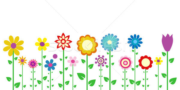 Colorato fiori di primavera Pasqua fiore sfondo estate Foto d'archivio © nezezon
