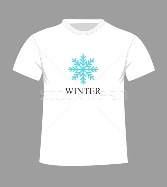 T-shirt design with Stock photo © nezezon