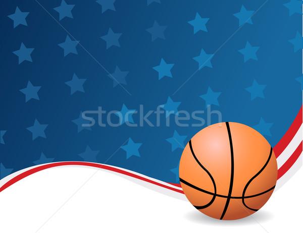 Vector Basketball Stock photo © nezezon