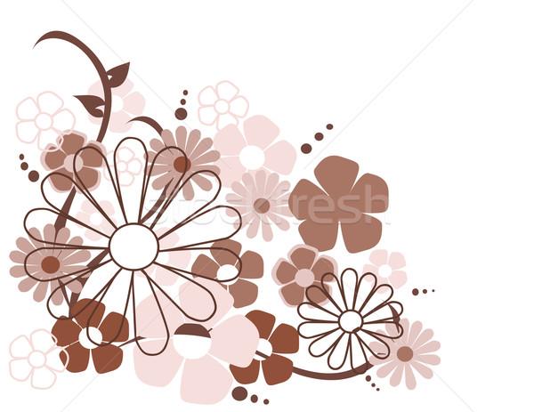 ストックフォト: 春の花 · 春 · デザイン · 葉 · 芸術 · 夏