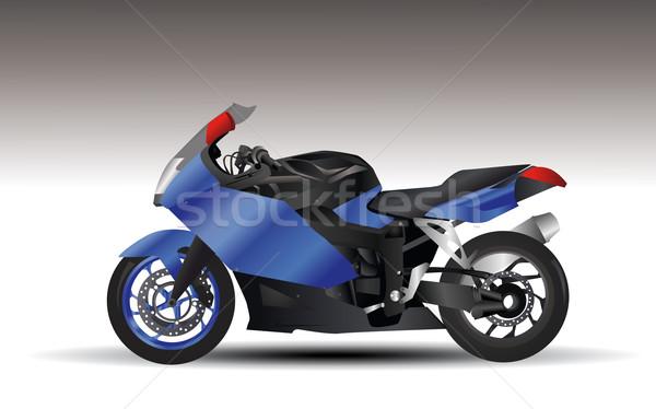 Motosiklet Boyama Kırmızı Siyah Bağbozumu Tekerlek