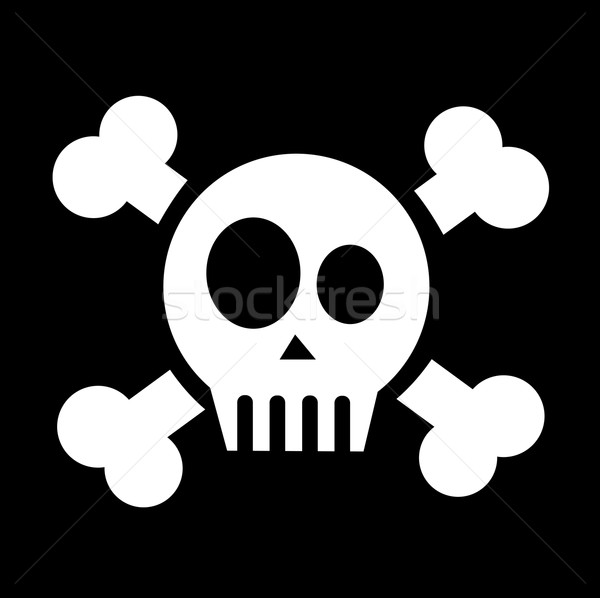 skull with crossed bones Stock photo © nezezon
