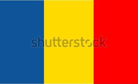 フラグ ルーマニア 世界 壁紙 国 文化 ストックフォト © nezezon